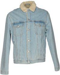 Au Jour Le Jour Denim Outerwear - Blue