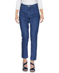 Maison Kitsuné - Denim Pants - Lyst