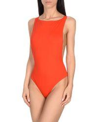 Marcelo Burlon - One-piece Swimsuits - Lyst
