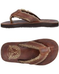Scotch & Soda - Toe Strap Sandal - Lyst