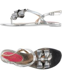 Poetic Licence - Toe Strap Sandal - Lyst