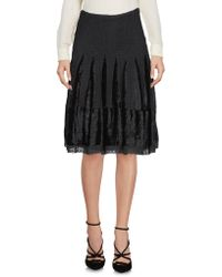 Clips - Knee Length Skirts - Lyst