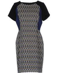 Blue Bay - Short Dress - Lyst