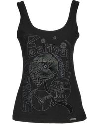 John Galliano - Tank Tops - Lyst
