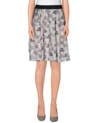 Brian Dales - Knee Length Skirt - Lyst