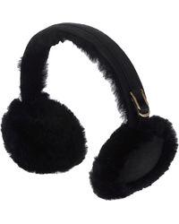 UGG - Double U Shearling Earmuffs - Lyst