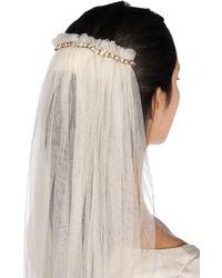 Lanvin Hair Accessory - White