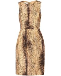 Oscar de la Renta - Knee-length Dress - Lyst