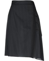 MM6 by Maison Martin Margiela - 3/4 Length Skirts - Lyst