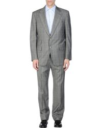 Tom Ford - Flannel Wool and Silk-Blend Suit - Lyst