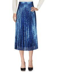 Twin Set - 3/4 Length Skirt - Lyst