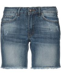 Blend She - Denim Shorts - Lyst