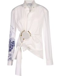 Anthony Vaccarello - Blouse - Lyst
