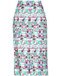 Emilio Pucci - 3/4 Length Skirt - Lyst