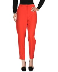 BOSS Black - Casual Trousers - Lyst