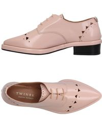 Twin Set - Lace-up Shoe - Lyst