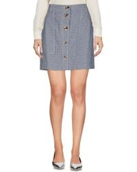 Leon & Harper - Mini Skirt - Lyst