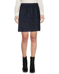 Aspesi - Mini Skirt - Lyst