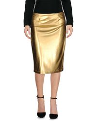 Fanfreluches - Knee Length Skirt - Lyst