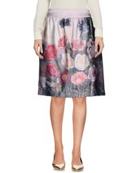 Just In Case - Knee Length Skirts - Lyst