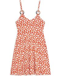TOPSHOP - Short Dress - Lyst