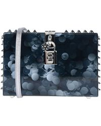 2fa5272e18aa Dolce   Gabbana Handbag in Black - Lyst