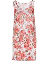 Miss Naory - Short Dress - Lyst