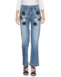 Mr & Mrs Italy - Denim Trousers - Lyst