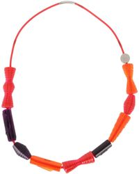 Pleats Please Issey Miyake - Necklace - Lyst