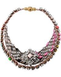 Shourouk - Necklace - Lyst