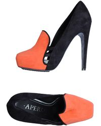Aperlai - Moccasins With Heel - Lyst