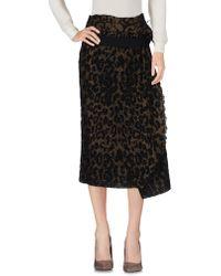Forte Forte - 3/4 Length Skirt - Lyst