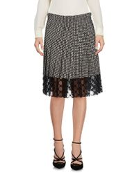 Philosophy Di Lorenzo Serafini - Knee Length Skirt - Lyst