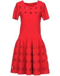 Alaïa - Short Dress - Lyst