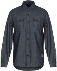 Volcom - Denim Shirt - Lyst