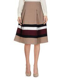 Kor@kor - Knee Length Skirt - Lyst