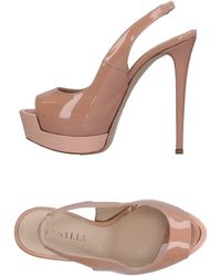 ce980df71b89 Lyst - Le Silla Sandals in Black