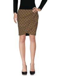Maison Scotch - Knee Length Skirts - Lyst