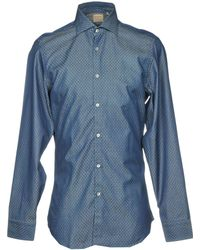 Michael Coal - Denim Shirt - Lyst