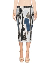 Belstaff - 3/4 Length Skirt - Lyst