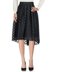 Caractere - 3/4 Length Skirt - Lyst