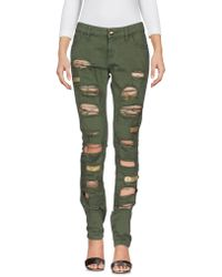 Jo No Fui - Denim Trousers - Lyst