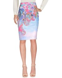 Who*s Who - Knee Length Skirts - Lyst