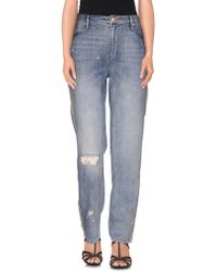 Sass & Bide - Denim Trousers - Lyst