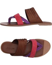 Gentry Portofino - Toe Post Sandal - Lyst