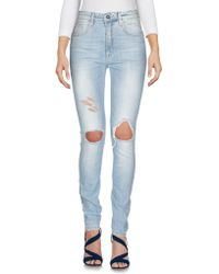 Annarita N. - Denim Trousers - Lyst