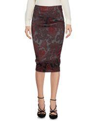 Lunatic - 3/4 Length Skirts - Lyst