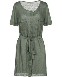 Fine Collection - Short Dress - Lyst