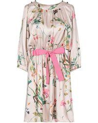 Angela Davis - Short Dress - Lyst