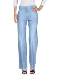 Armani Jeans - Denim Trousers - Lyst